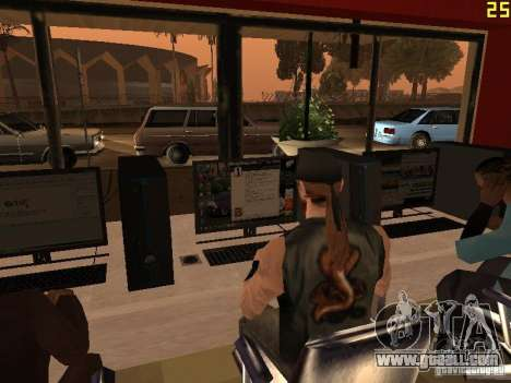 Ganton Cyber Cafe Mod v1.0 for GTA San Andreas sixth screenshot