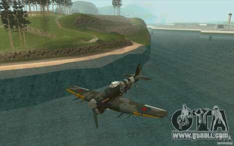 Hawker Typhoon for GTA San Andreas