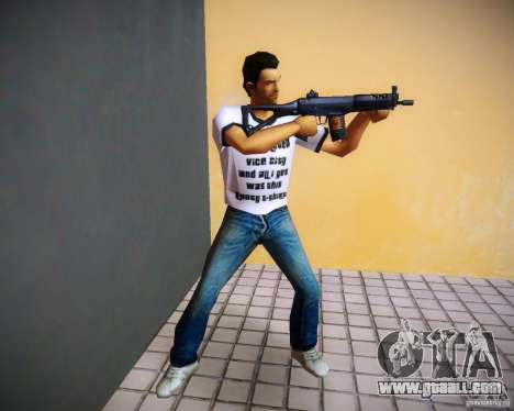 Sig552 for GTA Vice City forth screenshot
