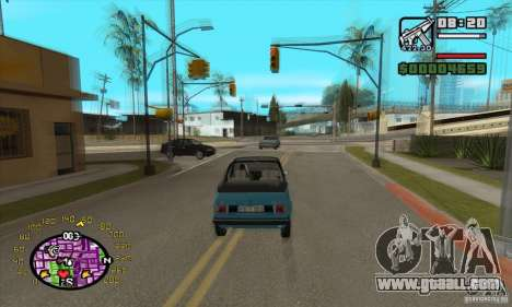 Speedometer for GTA San Andreas second screenshot