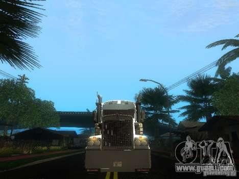 Kenworth T908 for GTA San Andreas upper view