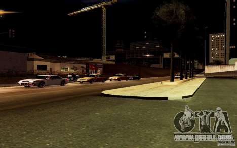 A new algorithm for car traffic for GTA San Andreas seventh screenshot