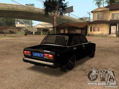 VAZ 21073 Service for GTA San Andreas back left view