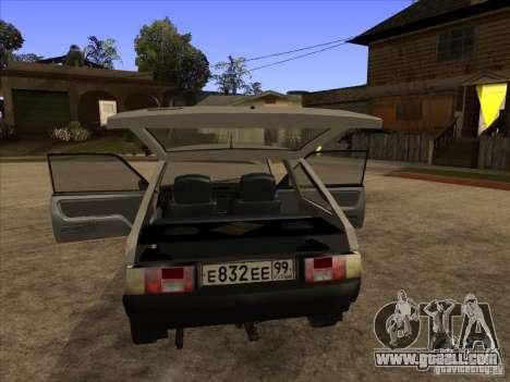 ZAZ 1102 Tavria for GTA San Andreas right view