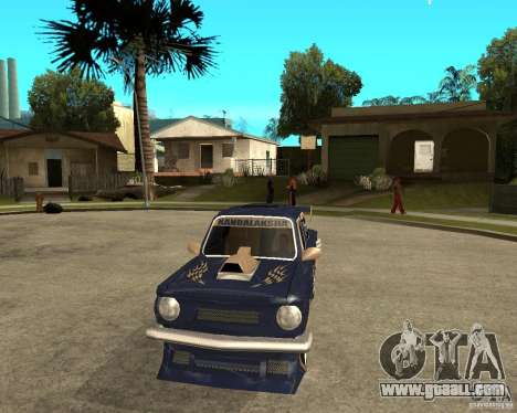 ZAZ-968 m STREET tune for GTA San Andreas back view