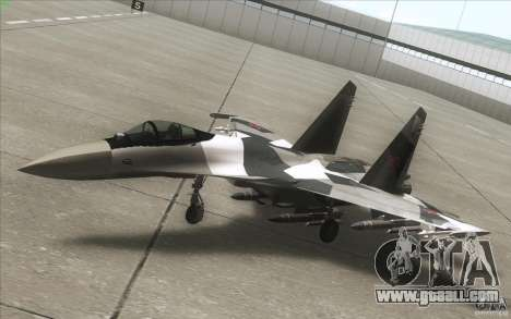 Su-35 BM v2.0 for GTA San Andreas side view