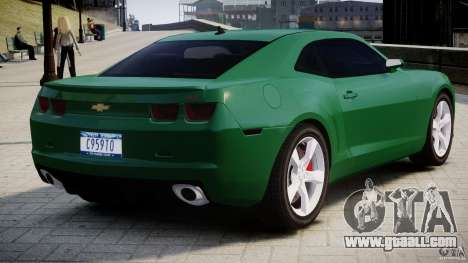 Chevrolet Camaro SS 2009 v2.0 for GTA 4 right view