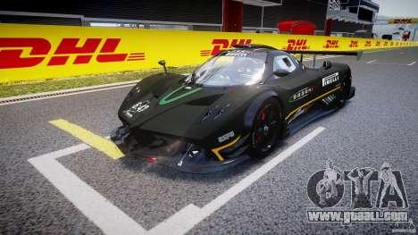 Pagani Zonda R 2009 for GTA 4