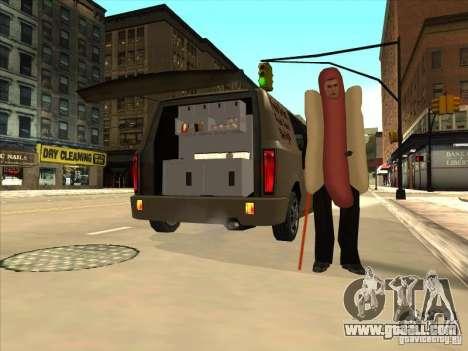 Hot Dog Moonbeam for GTA San Andreas