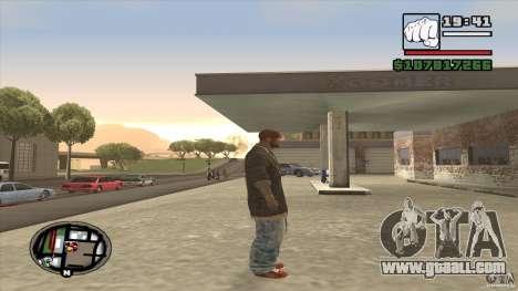 Sam B from Dead Island for GTA San Andreas third screenshot