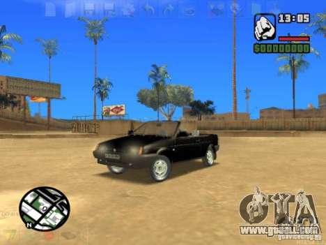 VAZ 2108 Convertible for GTA San Andreas