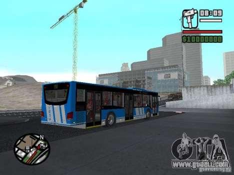 Design-X4-Dreamer for GTA San Andreas back view