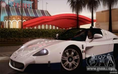 Maserati MC12 V1.0 for GTA San Andreas wheels