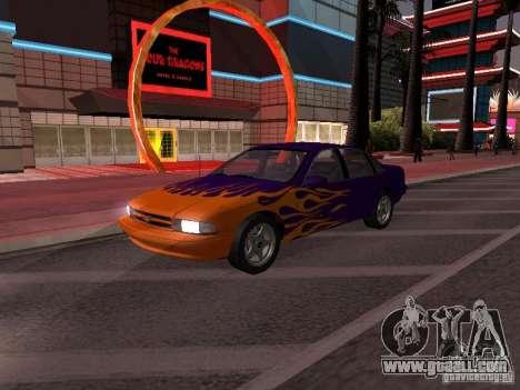 Chevrolet Impala SS 1995 for GTA San Andreas interior
