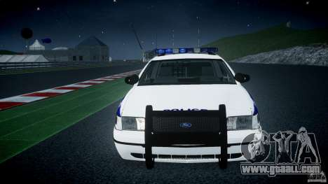Ford Crown Victoria NYPD [ELS] for GTA 4