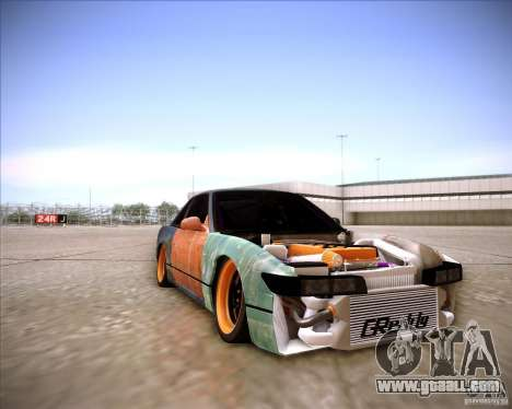 Nissan Silvia S13 Under Construction for GTA San Andreas side view