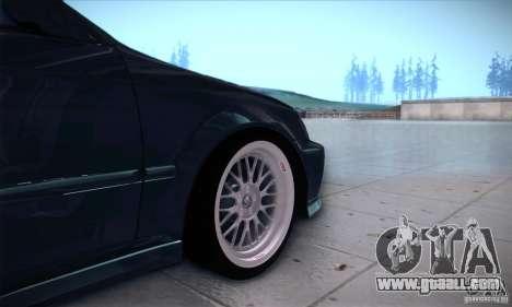 Honda Civic 6Gen for GTA San Andreas back view