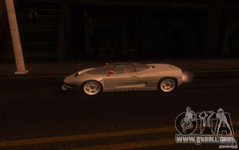 BMW Italdesign Nazca C2 1993 for GTA San Andreas left view