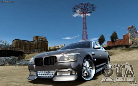 Menu and boot screens BMW HAMANN in GTA 4 for GTA San Andreas forth screenshot