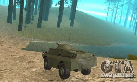 BRDM-2 Standard Edition for GTA San Andreas right view