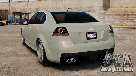 Chevrolet Lumina 2009 Mr. Bolleck Edition for GTA 4