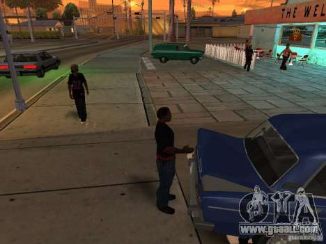 Open the trunk and hood manually for GTA San Andreas fifth screenshot