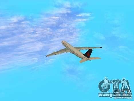 Airbus A340-300 Air Canada for GTA San Andreas inner view