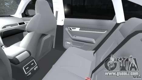 Audi RS6 2010 v1.1 for GTA 4 inner view
