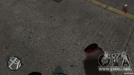 Granate teste mozzate for GTA 4 forth screenshot