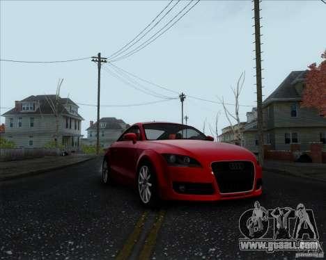 Audi TT for GTA San Andreas left view