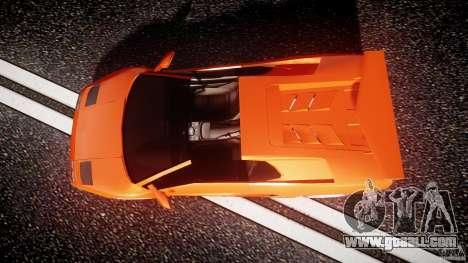 Lamborghini Diablo 6.0 VT for GTA 4 right view