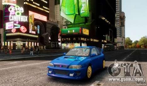 Subaru Impreza 22B 1998 for GTA 4