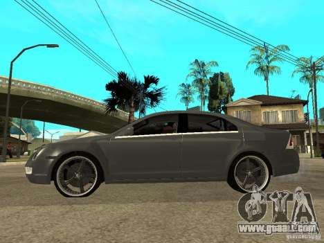 Ford Fusion 2008 Dub for GTA San Andreas left view