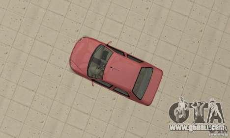 Fiat Siena HLX 1.8 Flex for GTA San Andreas back left view