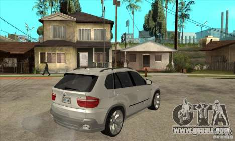 BMW X5 E70 Tuned for GTA San Andreas right view