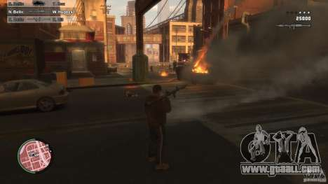 First Person Shooter Mod for GTA 4 second screenshot