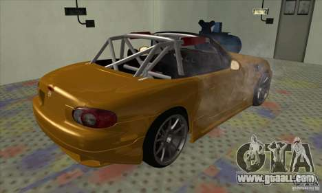 Mazda MX-5 for GTA San Andreas left view