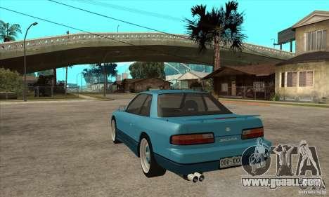 Nissan Silvia S13 1992 Club Ks for GTA San Andreas back left view