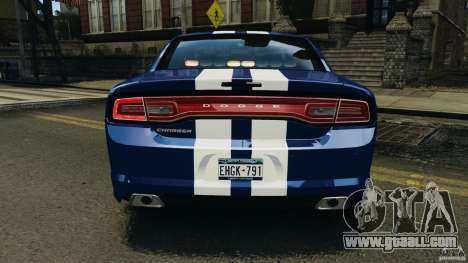 Dodge Charger Unmarked Police 2012 [ELS] for GTA 4 wheels
