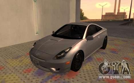 Toyota Celica 2JZ-GTE for GTA San Andreas