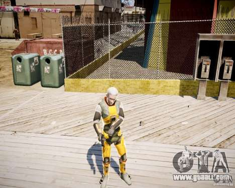 Morgan Freeman for GTA 4 fifth screenshot