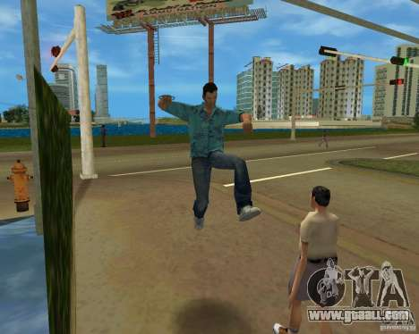 Animation of TLAD for GTA Vice City forth screenshot