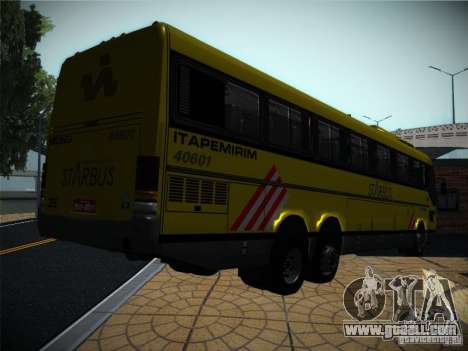 Mercedes Benz O400 Monobloco for GTA San Andreas back view