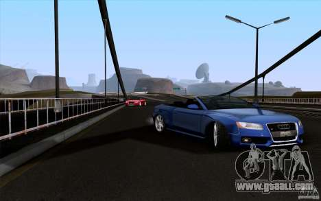 Audi S5 Cabriolet 2010 for GTA San Andreas right view