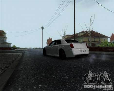 Chrysler 300 SRT-8 Final 2011 for GTA San Andreas right view