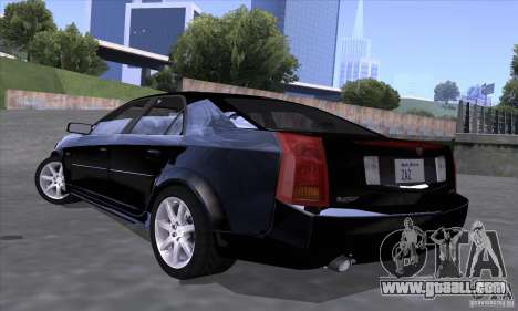 Cadillac CTS-V for GTA San Andreas left view