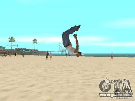 Parkour 40 mod for GTA San Andreas second screenshot