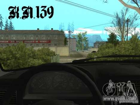 Gaz 3110 beta 0.1 for GTA San Andreas back left view