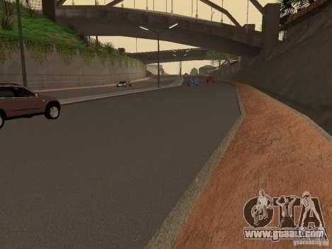 New roads on Grove Street for GTA San Andreas third screenshot