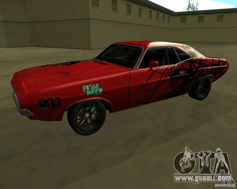 Dodge Challenger 1971 TeamGo for GTA San Andreas